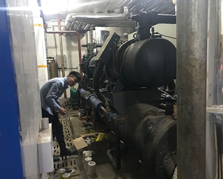 中央空调机组改造